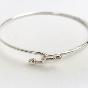 9615c39b4 Tiffany & Co. Jewelry | Tiffany Co Sterling Silver Wire Bracelet ...